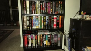 Stephen King bookshelf